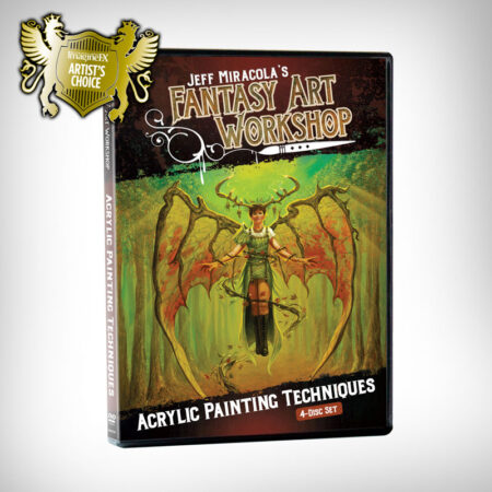 Jeff Miracola's Fantasy Art Workshop Acrylic Painting Techniques DVD